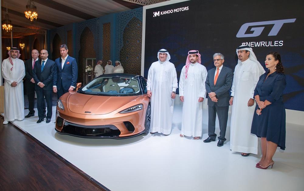 McLaren GT debuts in the Kingdom of Bahrain