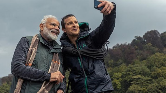 Man Vs Wild With PM Narender Modi