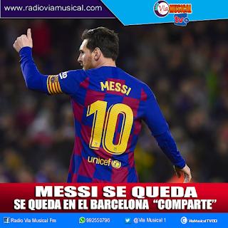 Se rinde: Lionel Messi se queda en el FC Barcelona y la razón no dejará contentos a los hinchas