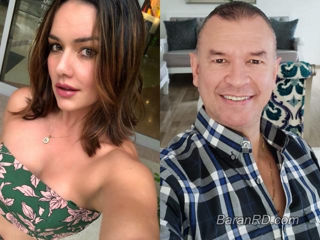La merenguera Tueska y el empresario Evelio Herrera
