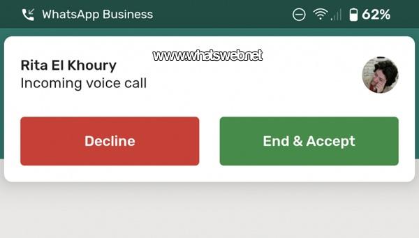 Nueva interfaz en WhastApp