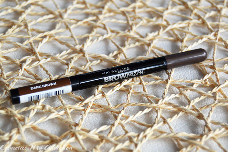 MAYBELLINE | Brow Satin - dwustronna kredka do brwi