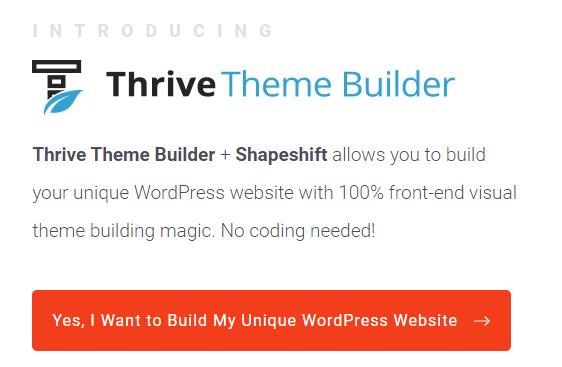 Thrive Theme Builder v1.8.2.2 [+Shapeshift] Free Download