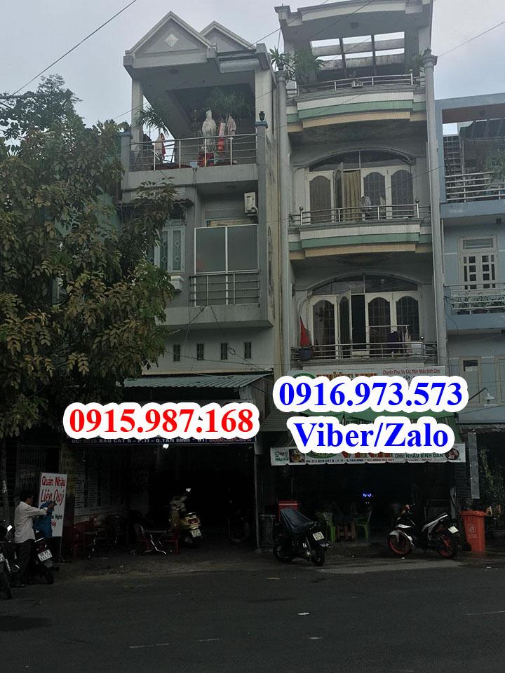 Bán nhà Mặt tiền Bàu Cát 9 phường 11 quận Tân Bình giá rẻ 2019. DT 4x17,55m