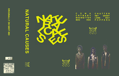 Natural Causes : a band from north carolina with Paint Fumess members. corrosive synth punk. disturbed music for insane people. Tape (Limitede edition 69 copies) for info : antoniomasci@live.it