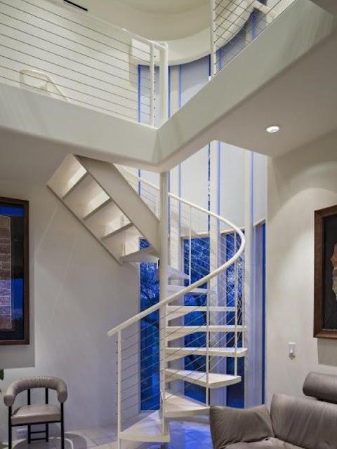 Spiral staircase modern design