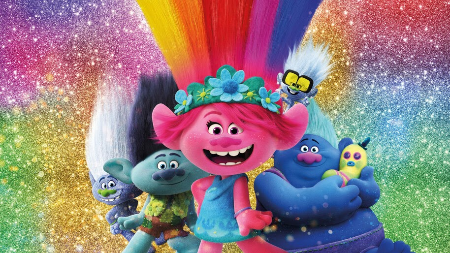 Trolls World Tour, Poster, Movie, Characters, 8K, #7.1556