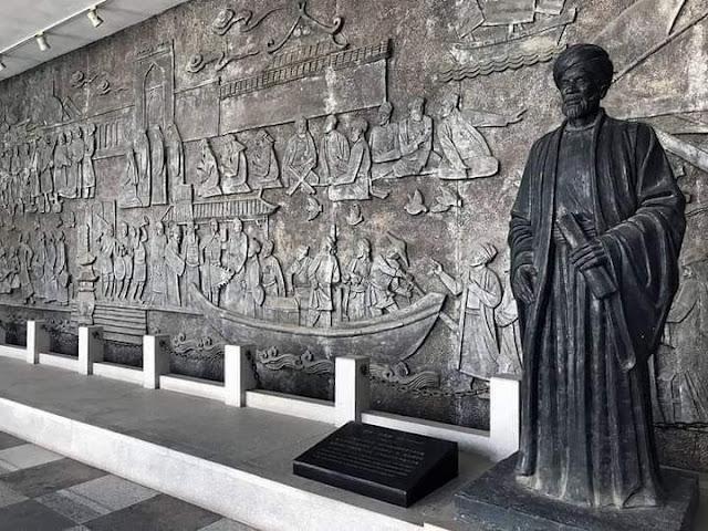تمثال ابن بطوطة بتوتة
