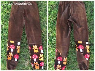 housut tilkuista