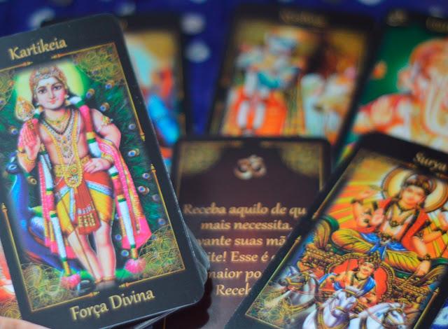 Resenha do Tarô dos Deuses Hindus de Tina Simão