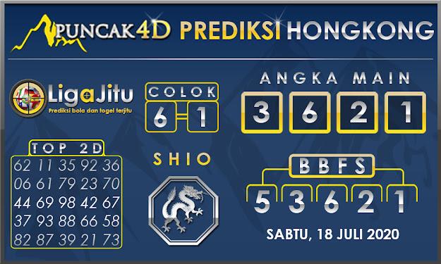 PREDIKSI TOGEL HONGKONG PUNCAK4D 18 JULI 2020
