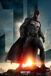 Warner Bros. Justice League Trailer Premiere Batman Poster