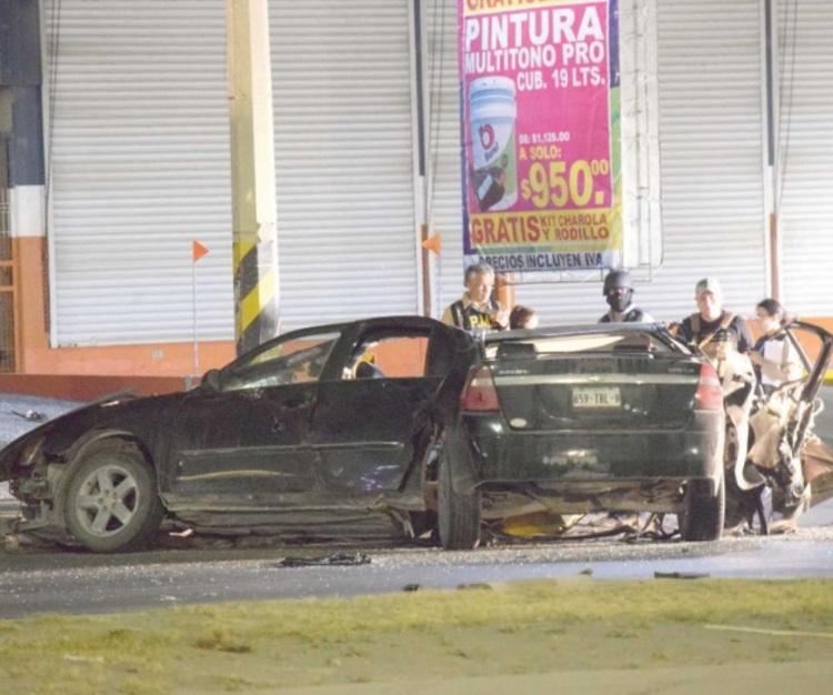 Así la trágica balacera entre sicarios y policías en Tamaulipas en donde una ama de casa y cuatro sicarios perdieron la vida