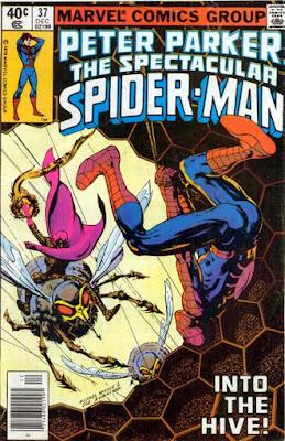 spectacular Spider-Man #37, Swarm
