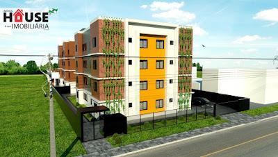 Lindos Apartamentos de 02 Dormitórios com 48 a 51m², entregues prontos para morar!