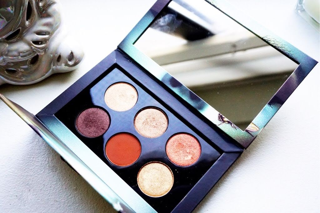 Pat McGrath Bronze Ambition Palette Swatches and Review
