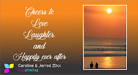 Sunset Beach Cheers to Love ever after