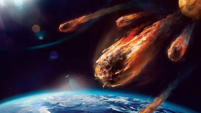 Empat Asteroid Sedang Menuju ke Bumi, Akankah Terjadi Tabrakan?