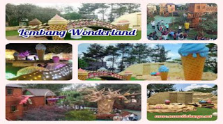 Wisata Lembang Wonderland Dekat Villa Istana Bunga