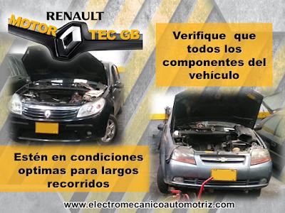 Revision y Mantenimiento Renault