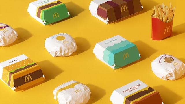 mcdonalds new packaging design