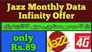 Jazz Data Infinity Offer