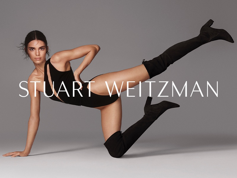 Model Kendall Jenner flaunts her legs in Stuart Weitzman fall-winter 2019 campaign