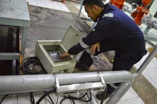 Jarak panjang Pipa pemasangan transducer ultrasonic