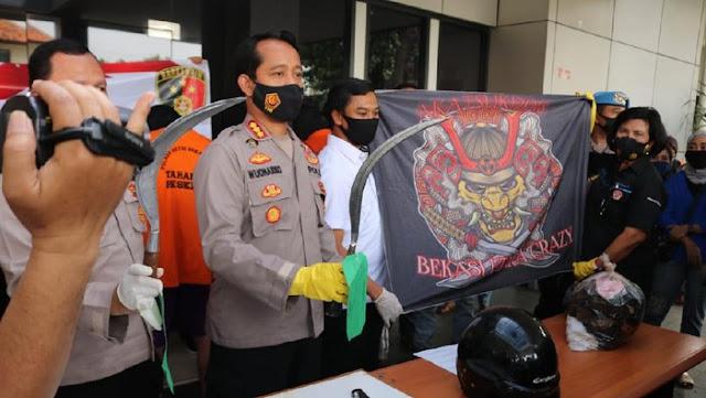 Polisi Berhasil Menangkap 7 dari 8 Begal Sadis yang Bunuh Korbannya di Bekasi Utara