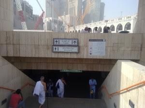 TIPS MENCARI TOILET MASJIDIL HARAM Haji 2016
