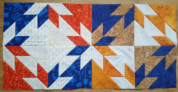 Hunter's star quilt block | DevotedQuilter.com