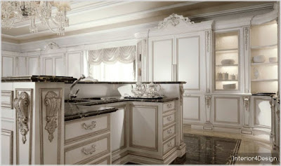 Classic Kitchen Decorations for Luxury Homes 8