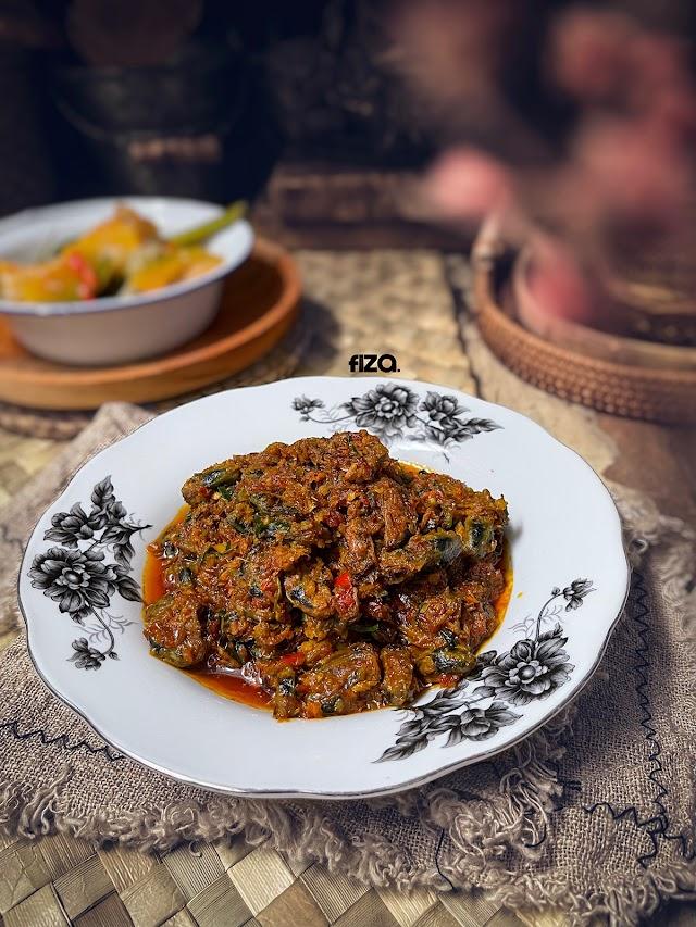 Rendang Kupang Dan Sayur Labu Masak Lemak Putih. Harini Mood Rajin Masak!
