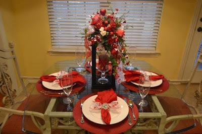 การจัดโต๊ะอาหาร
