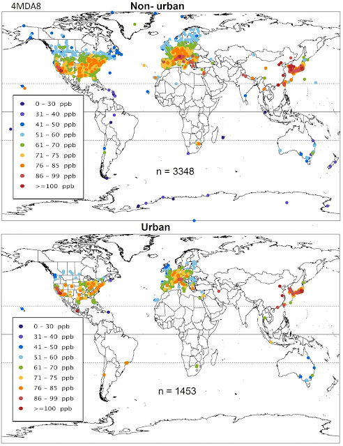 Powerful new dataset reveals patterns of global ozone pollution