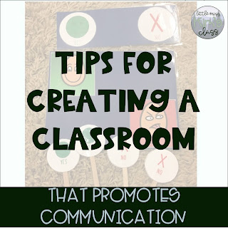 Creating a Classroom Environment that Promotes Communication in Special Education