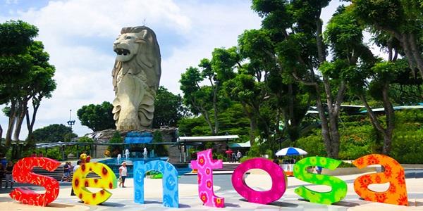 khu nghỉ mát đẳng cấp của Singapore