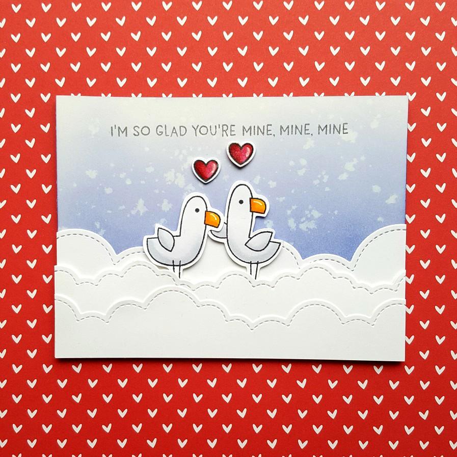 Mine Card Handmade I\u2019m So Glad You Are Mine Mine