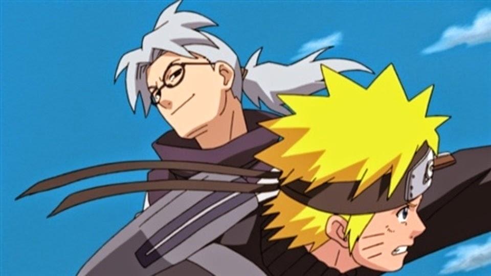 Naruto ataca a Kabuto