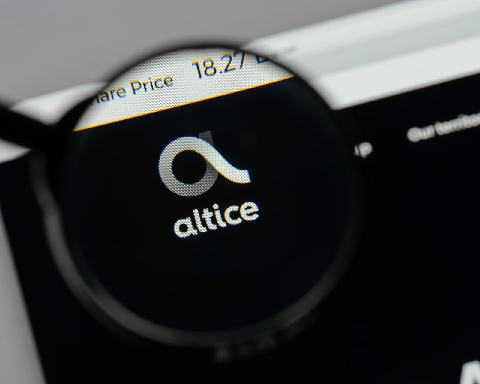 Altice Website
