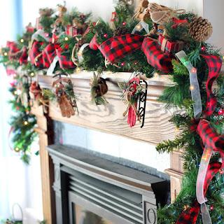 DIY Christmas Garland Tutorial