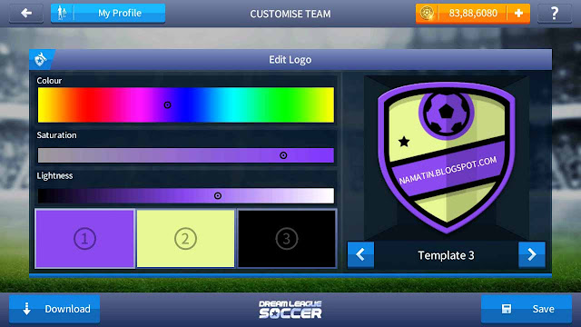 ganti logo dream league soccer 17