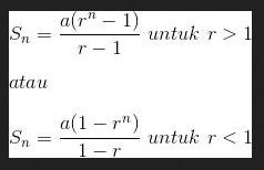 Barisan dan Deret Geometri (Deret Ukur) Kelas 11 Lengkap