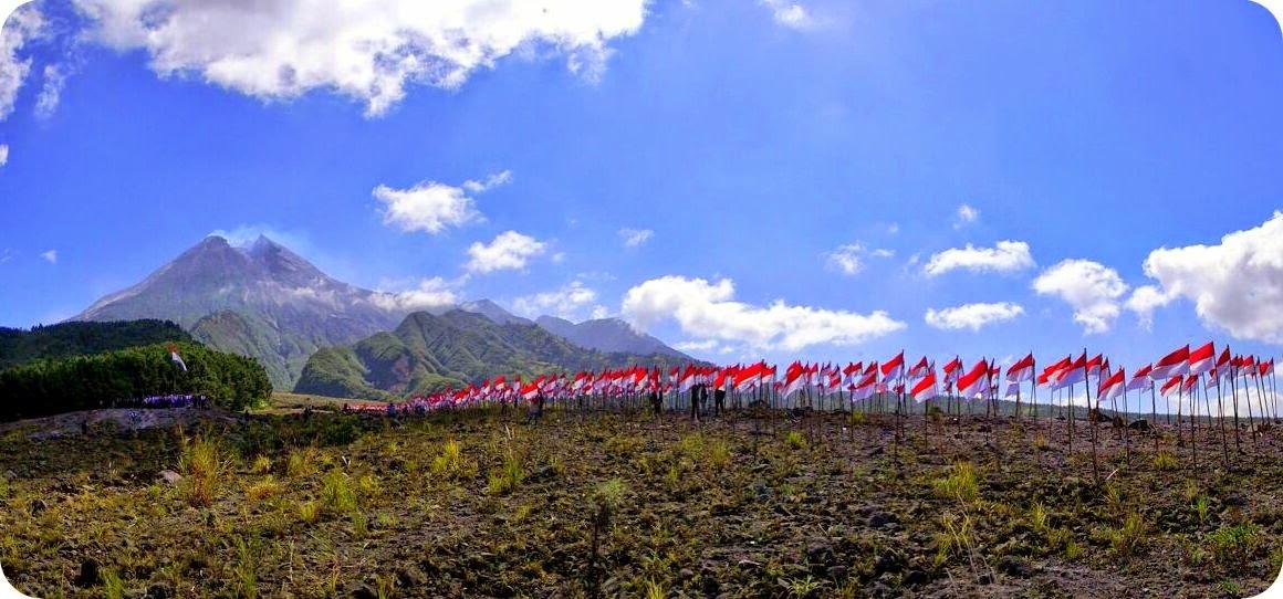 Seribu Bendera di Merapi
