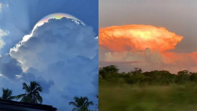 Fenômenos ou sinais nos céus?