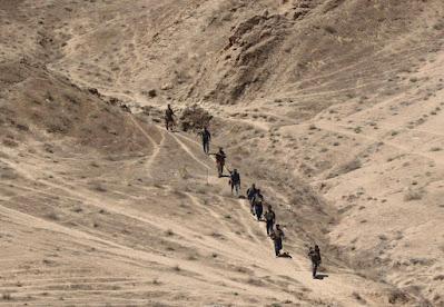 قوات الحشد الشعبي تشرع باليوم الثاني من عمليات التفتيش جنوب غرب كركوك