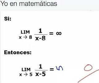 Yo en matemáticas