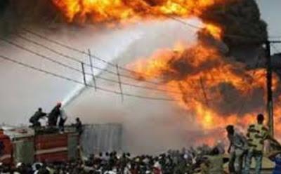 fire destroys igbajo plank market sango ibadan
