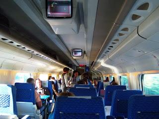 Vista da Segunda Classe do Trem