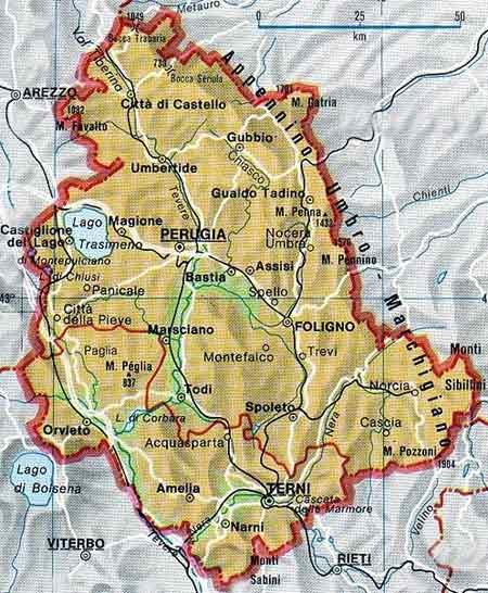 Luoghi da scoprire in Umbria...Vacanze in Italia